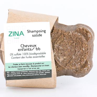Shampoing solide pour cheveux enfants-bébé