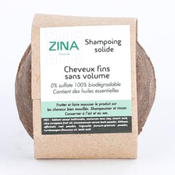Shampoing solide pour cheveux fins sans volume