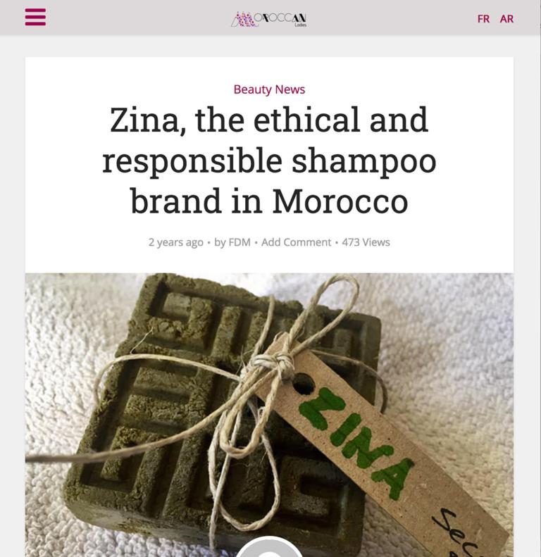 Zina Cosmetik - Presse - Lancement - Moroccan Ladies