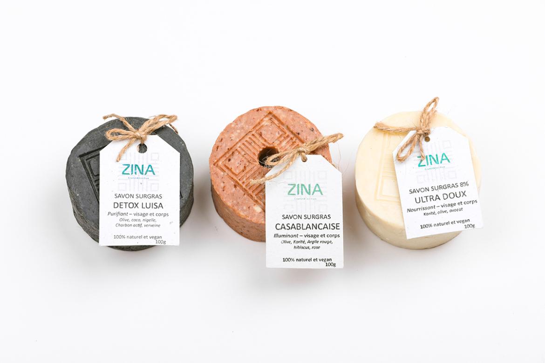 Zina Cosmetik - Gamme Savons soins